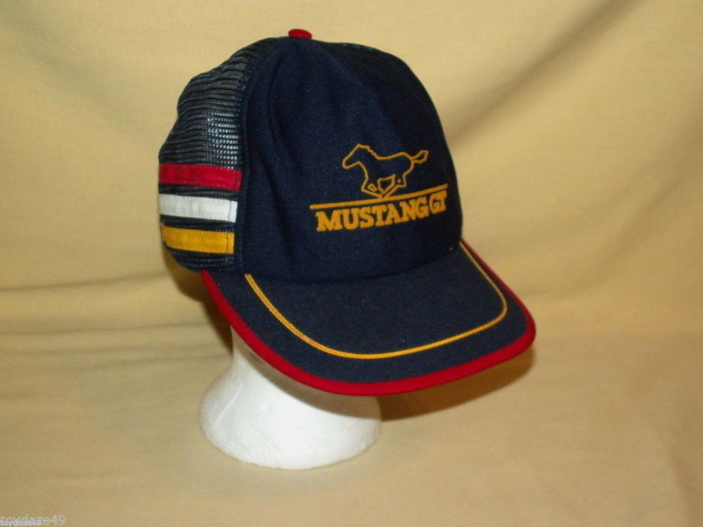 mazda baseball hat ford mustang gt vintage cap summer mesh blue red white yellow mx 5 miata