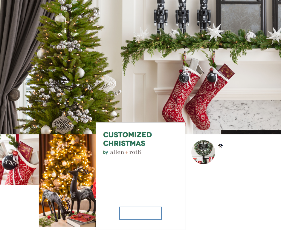 Discover christmas decorating themes at lowes.com holidays