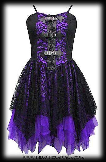 36++ Purple gothic dress ideas