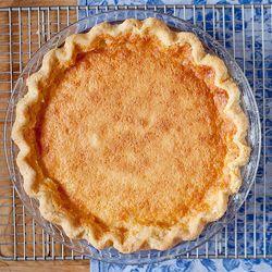 Betty S Buttermilk Pie Recipe Buttermilk Pie Food Pie