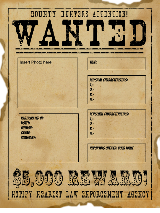 Image Result For Wanted Poster Template Editable Printable Word Template Poster Template Free Poster Template