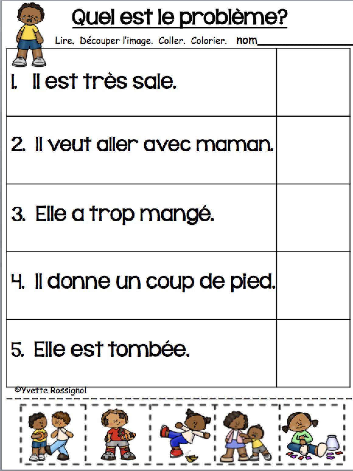 Lecture Facile Decoupe Et Colle Niveau 2