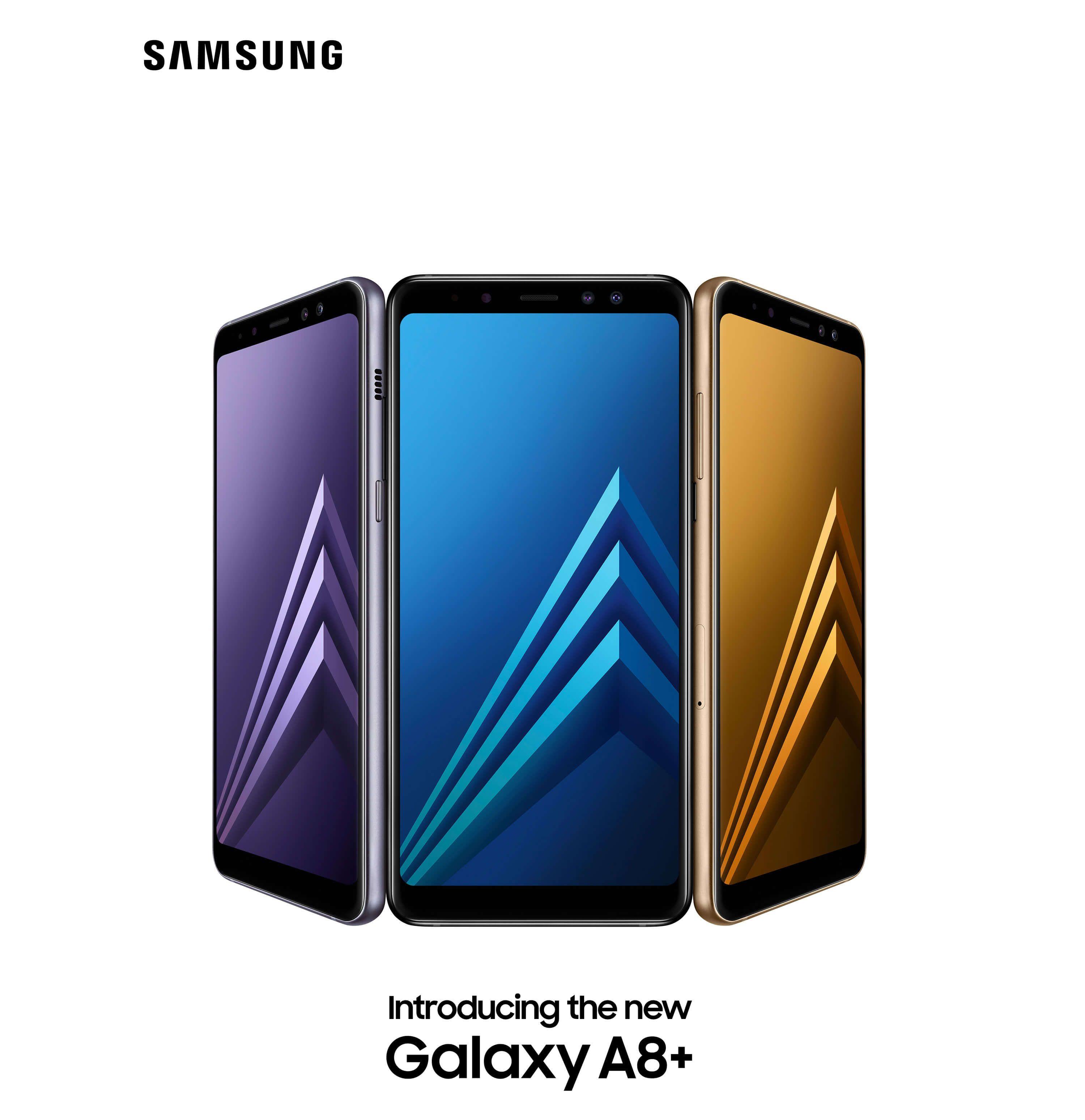 Samsung Galaxy A8 2018 und Galaxy A8 2018 offiziell vorgestellt