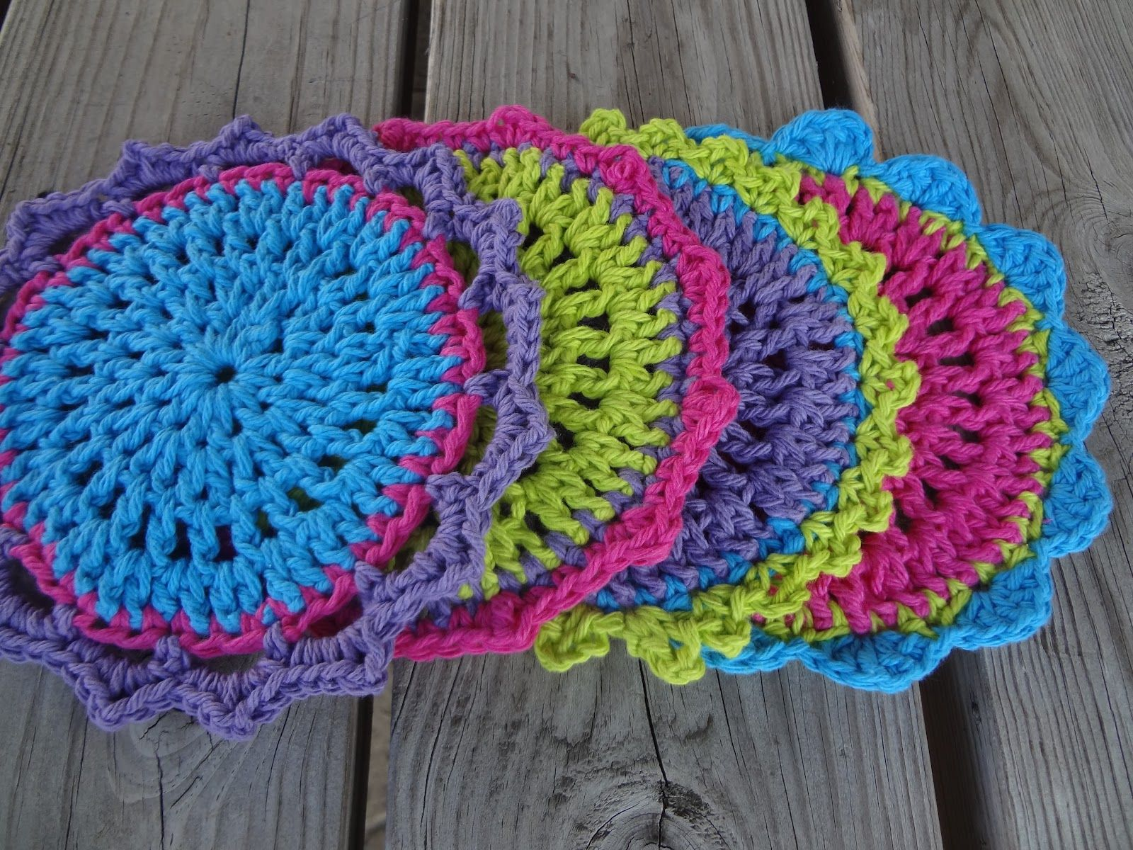Kitchen Lovelies...Free Crochet Pattern! Trivet, Dishcloth, and ...