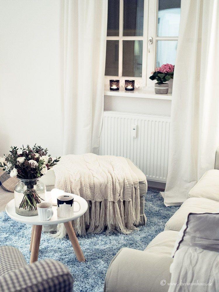 Ich sorge für FRÜHLINTER im dreiraumhaus - living altbau - deko fur wohnzimmer