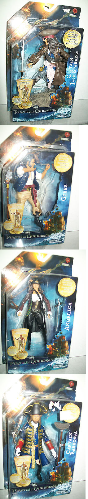 Pirates of the Caribbean 142334: Pirates Of The Caribbean On Stranger Tides 6 Figure Set -> BUY IT NOW ONLY: $44.99 on eBay!
