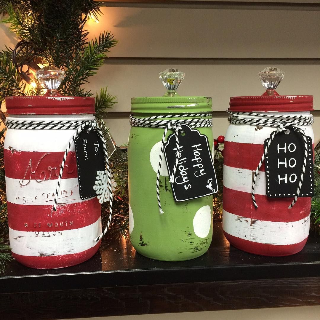 How To Decorate Mason Jars For Christmas Gifts Endearing Over 35 Christmas Mason Jar Ideas ~ Idees And Solutions  Christmas