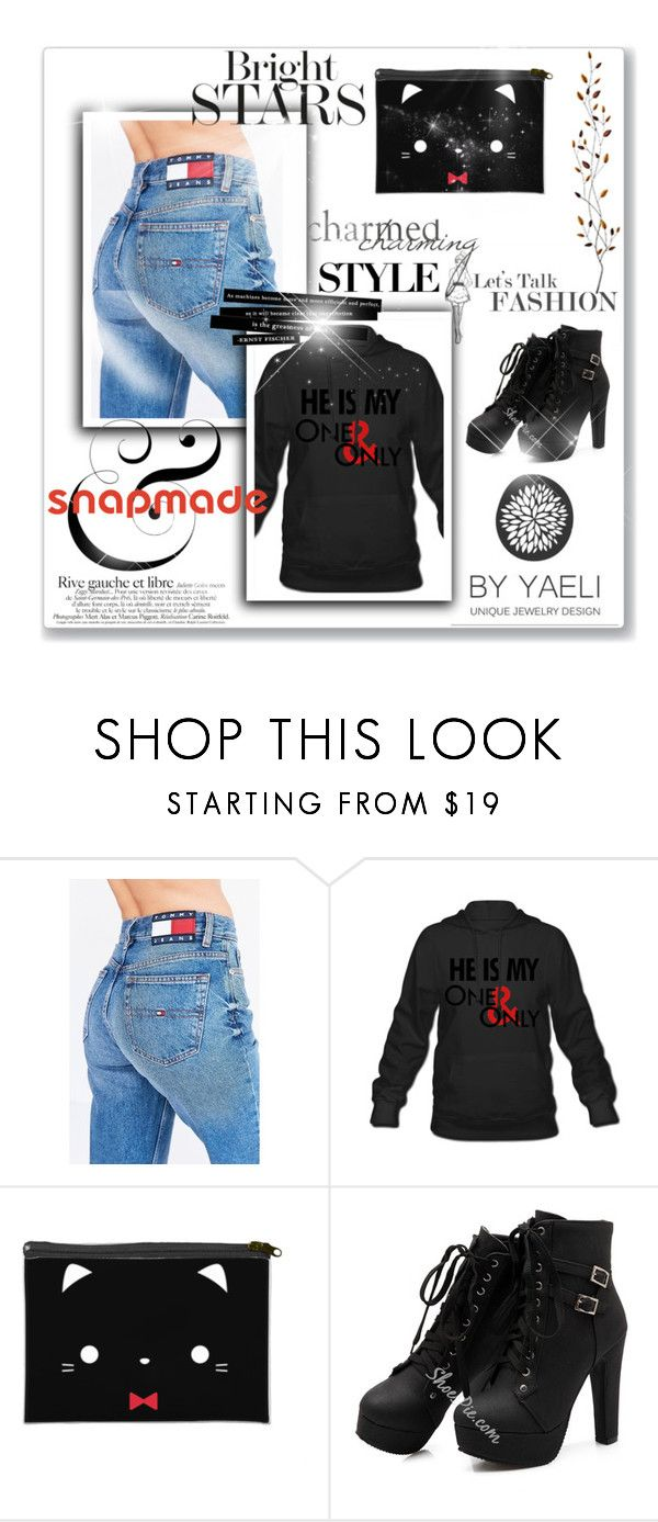 """""""Snapmade"""" by selenagomez-163 ❤ liked on Polyvore featuring Tommy Hilfiger, Pier 1 Imports, love and snapmade"""