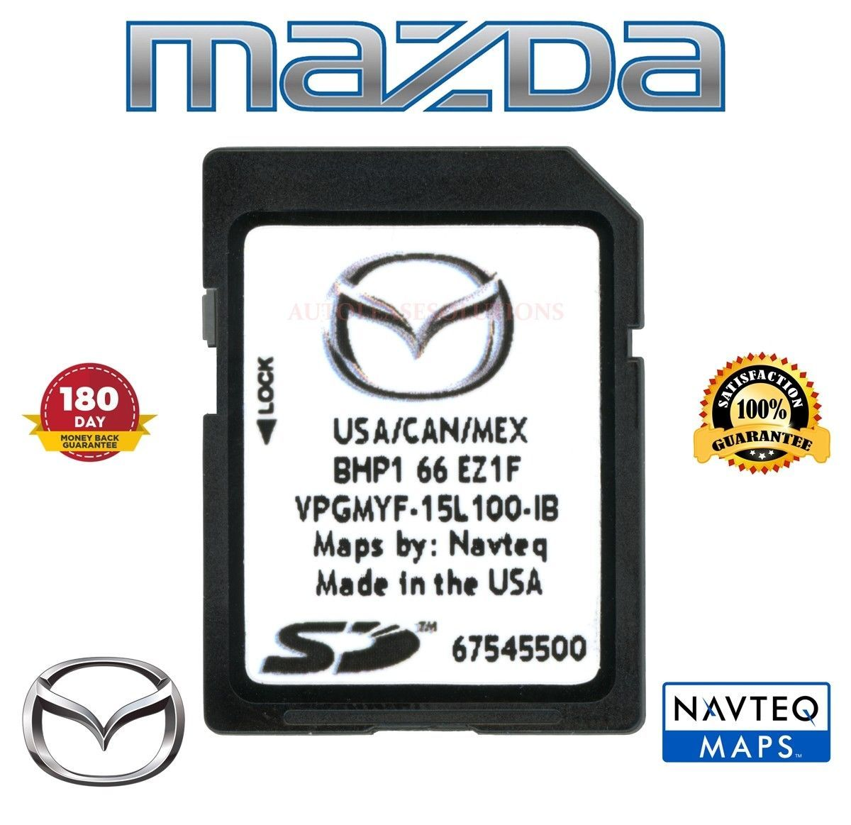 Nice Awesome 2018 2017 2016 Mazda Navigation Sd Card Bhp1 66 Ez1f 3 6