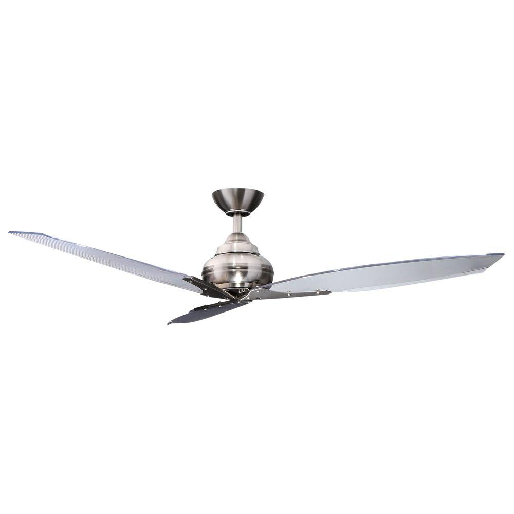 Hampton Bay Floine Iv 56 In Indoor Outdoor Natural Iron Ceiling Fan With Wall