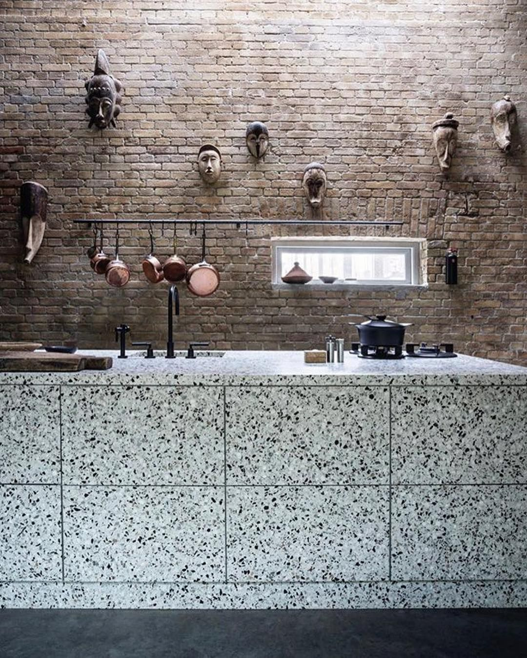 Peters Esszimmer In Münster M T I Like The Idea Of Your Terrazzo Kitchen Counter Facing The