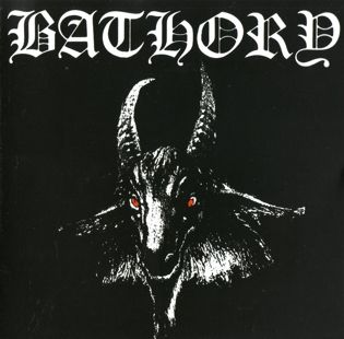 Bathory Bathory Arte De Metal Black Metal Metal Preto