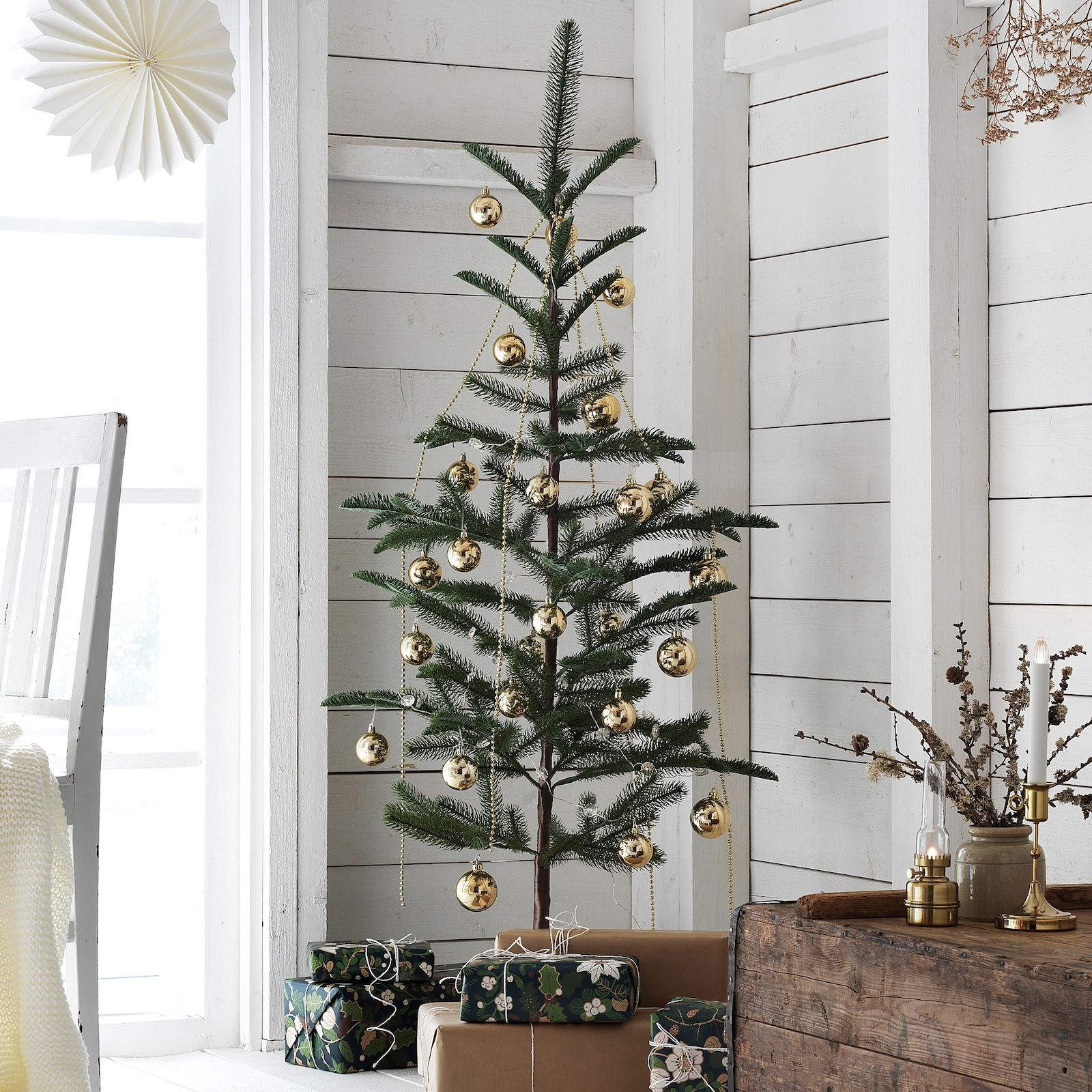 VINTER 2020 Artificial plant - indoor/outdoor/christmas tree green - IKEA -   19 christmas tree 2020 simple ideas