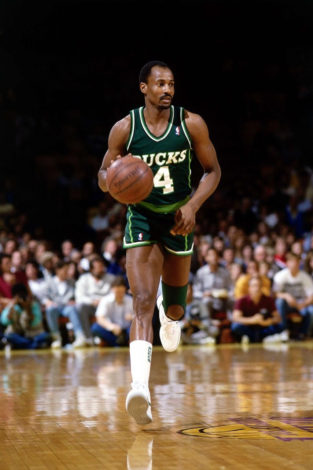 Sidney Moncrief who played for the Milwaukee Bucks from 1979 to