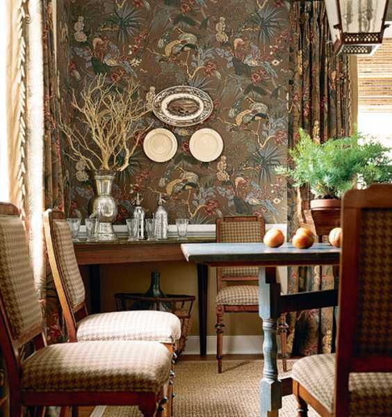 Interior Design Colonial Williamsburg: Remarkable Colonial Style In House Interiors With Ethnic