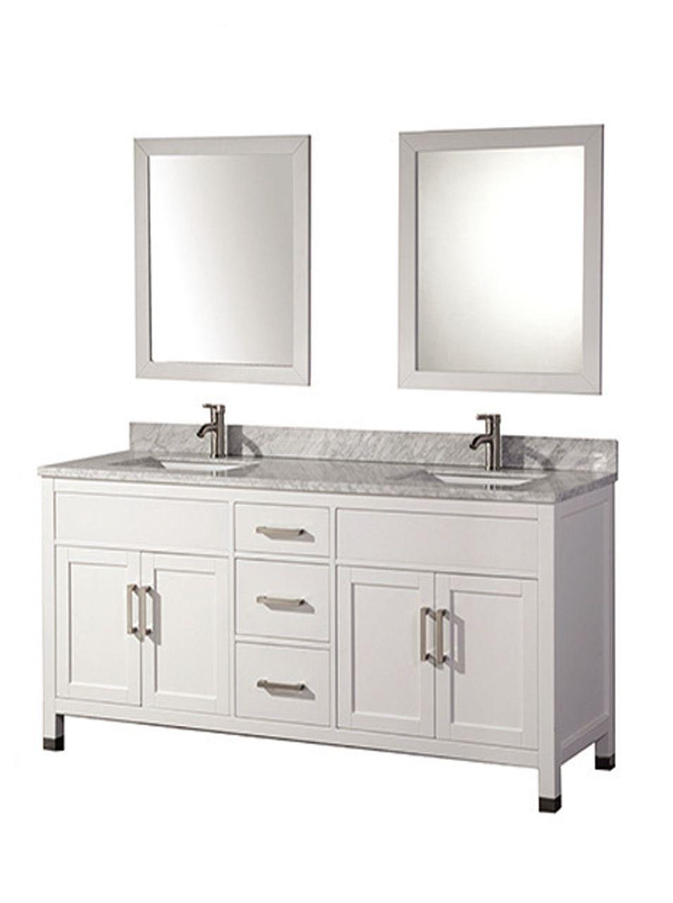 Photo Album Gallery Acer Inch White Solid Wood Double Bathroom Vanity