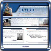 Organización:   Tecnología Alemana C.A.;   Ubicación:   Cagua;   Enlace:   http://www.tealca.com.ve;   Segmento:  Metalmecánica Industrial;   Año:   2005