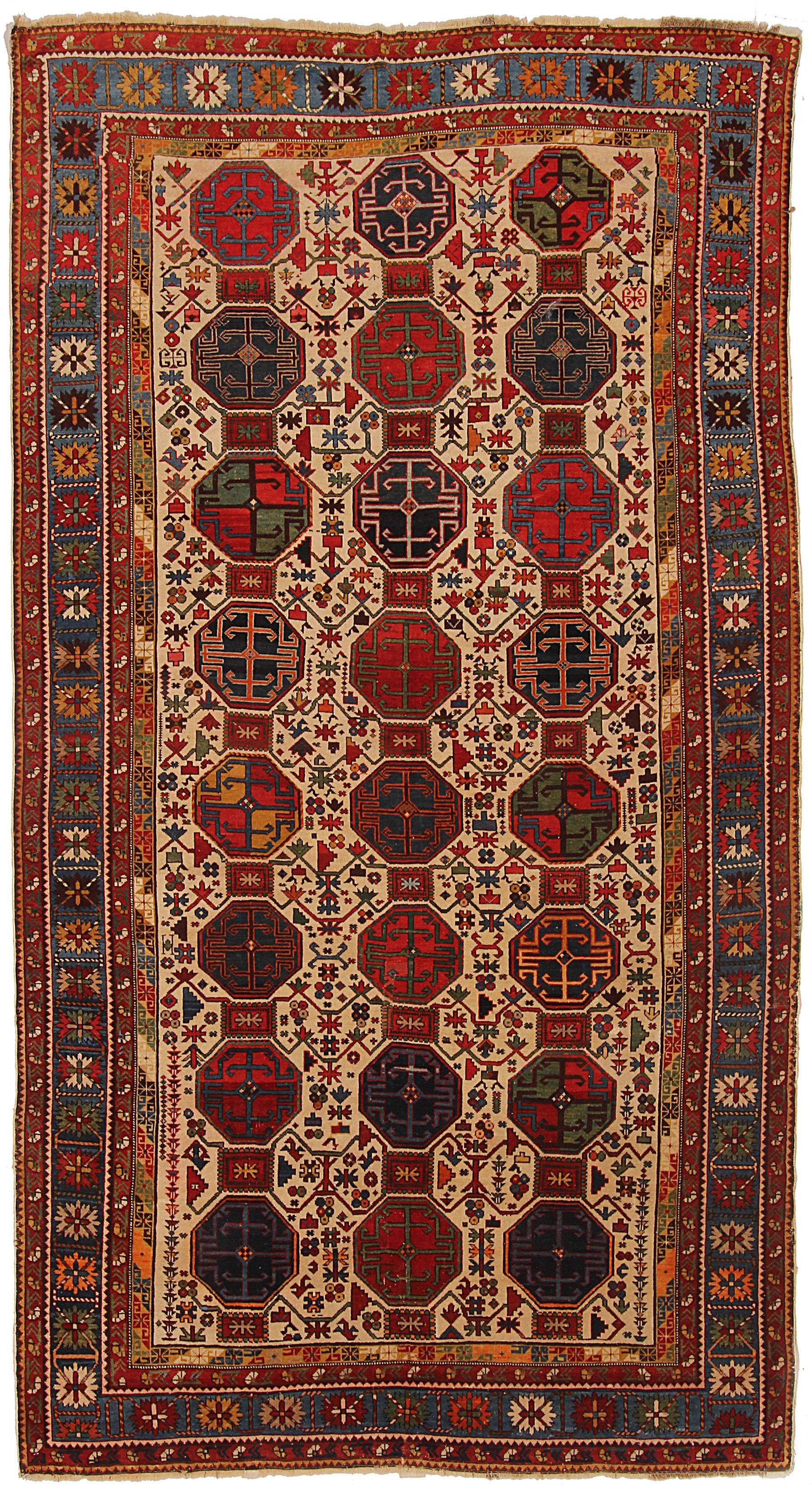 39155 Kazak Russian Rugs On Carpet Rugs Oriental Rug
