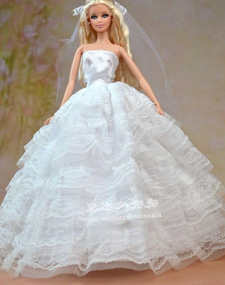 Барби свадьба платье