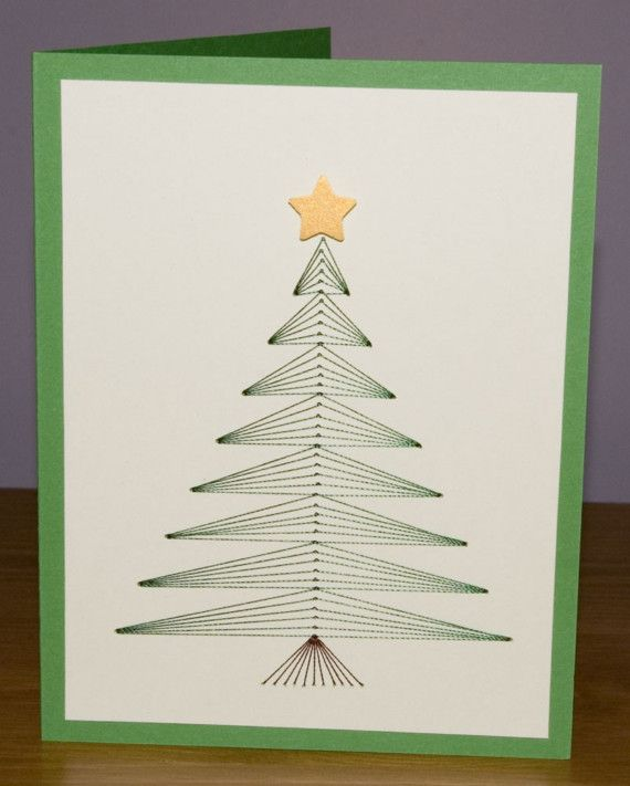 Cool embroidered christmas card products i love