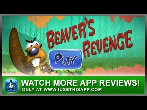Beavers Revenge for iPhone - App Review - iPhone Games #iphone #apps #appreviews #IUT