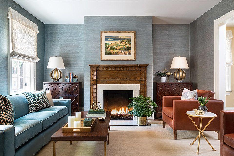 Georgetown Classic Home Bossy Color Annie Elliott Interior