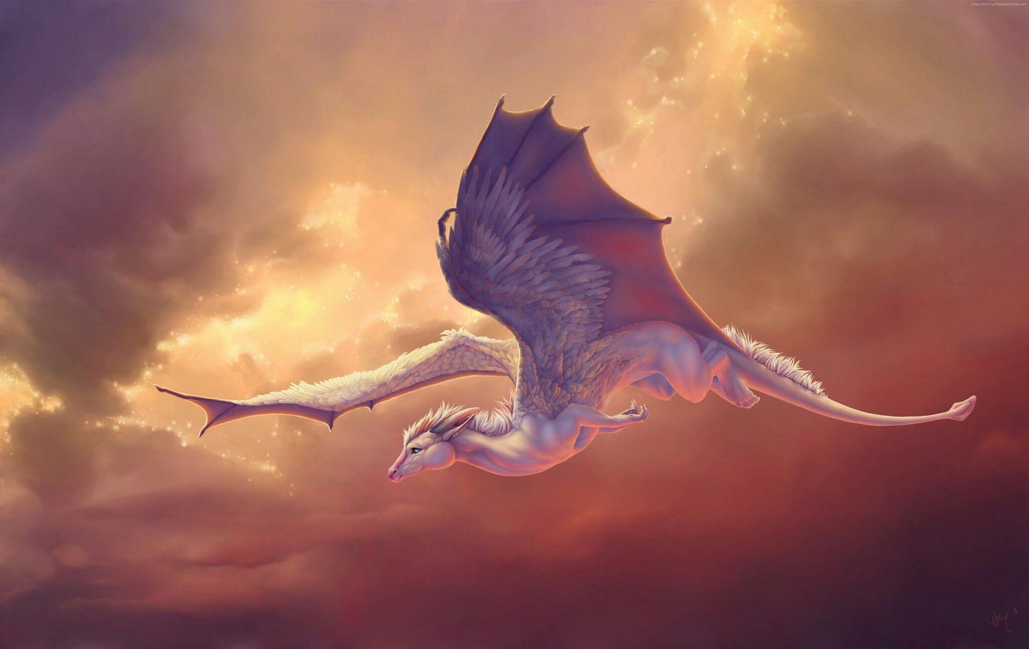 White sky dragon