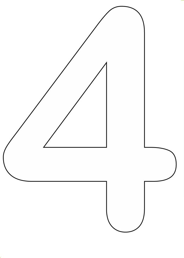 Number 5 Coloring Page Free Printable Coloring Pages Coloring