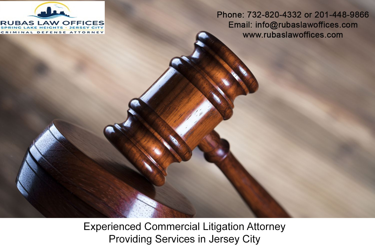 Experienced Commercial Litigation Attorney Providing