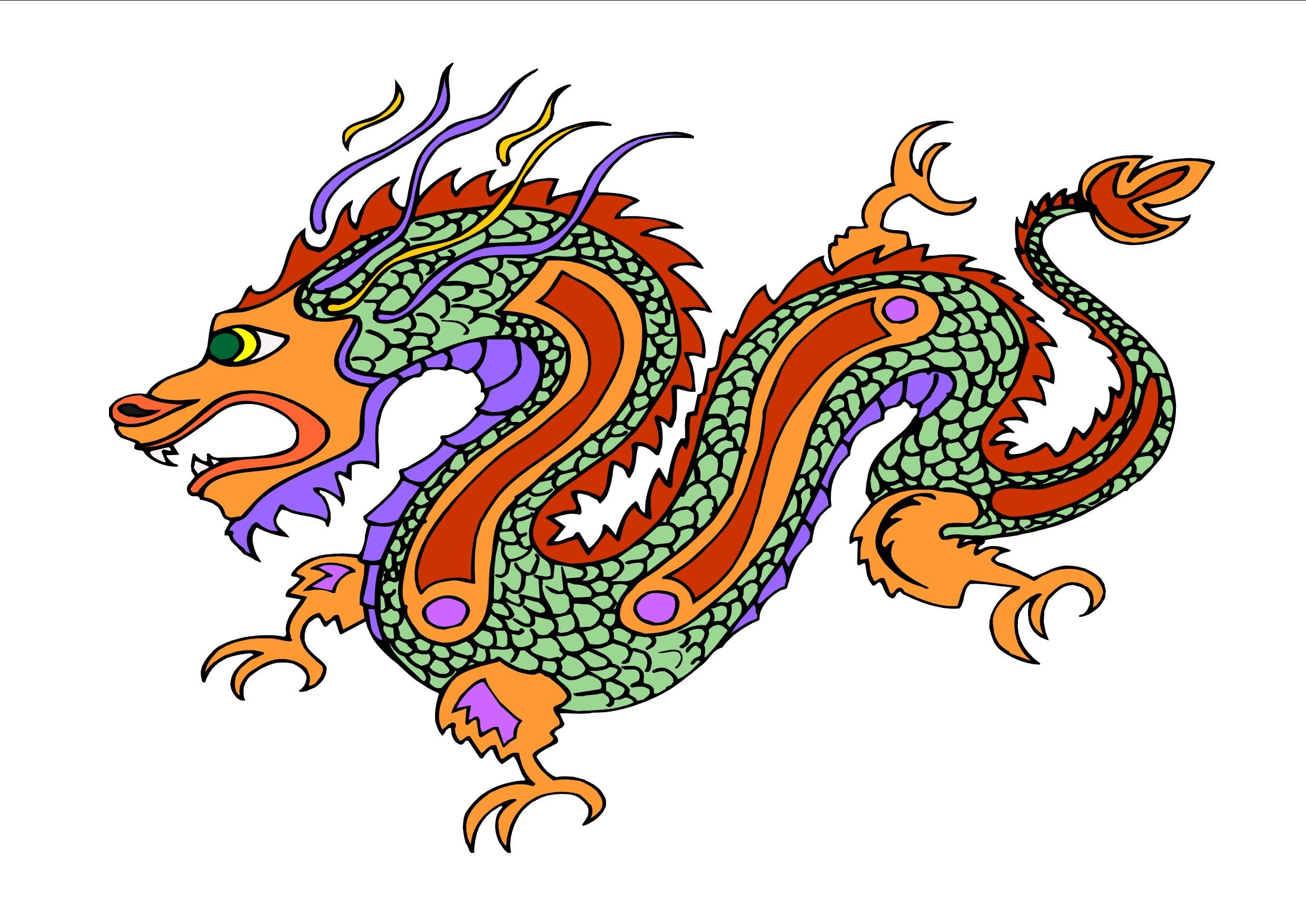 34+ Chinese new year clipart dragon information
