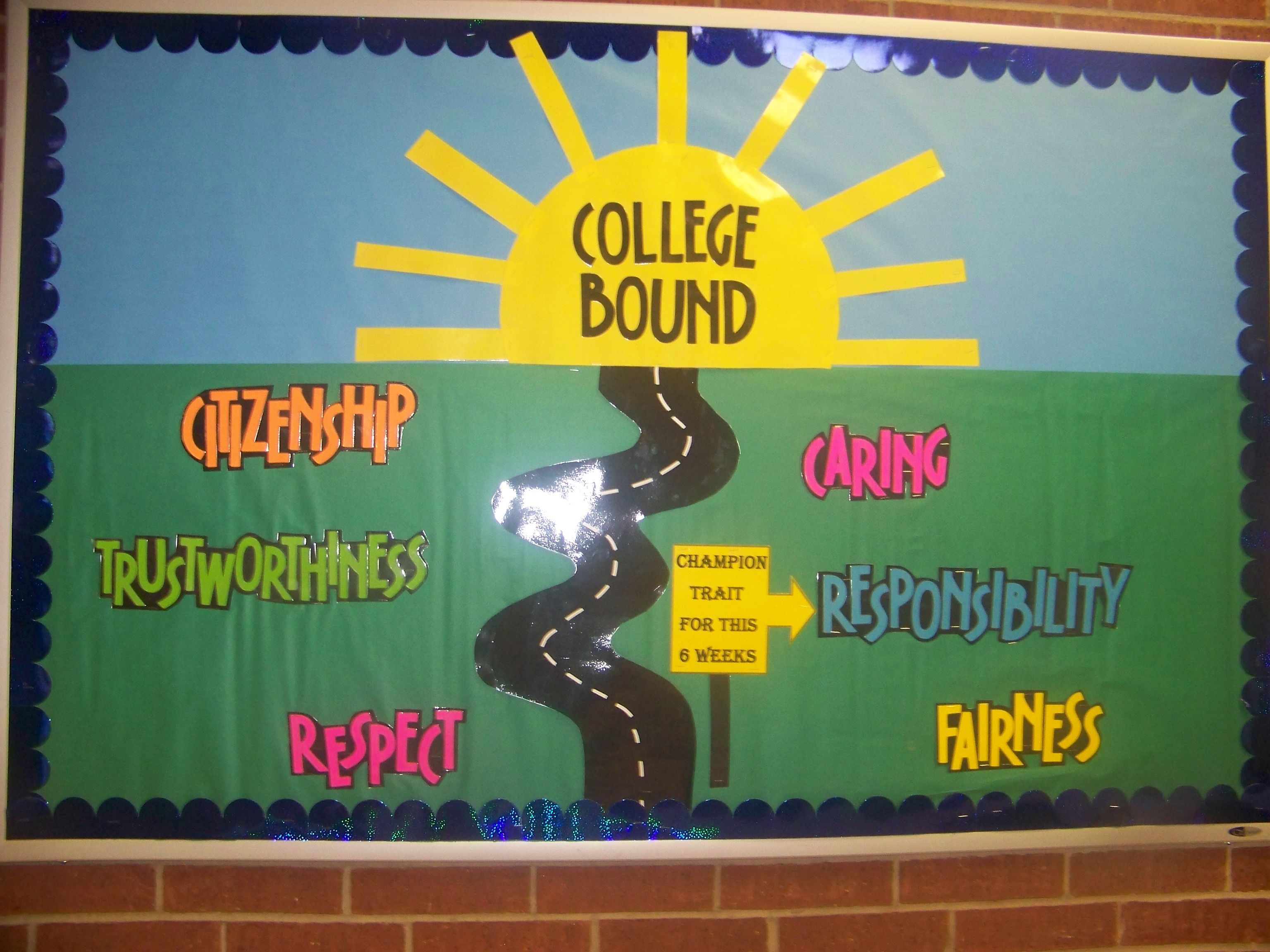 Character Design Career Path : Champion traits bulletin board boards