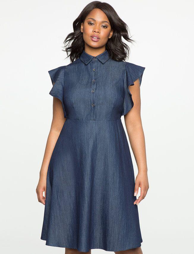 36++ Plus size denim dress ideas in 2021