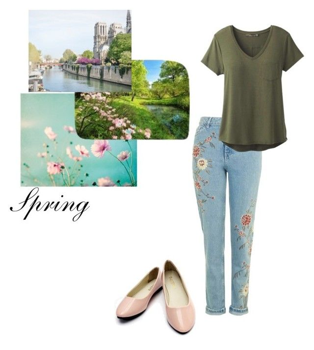 """All ready for spring"" by creativejenerator ❤ liked on Polyvore featuring prAna"