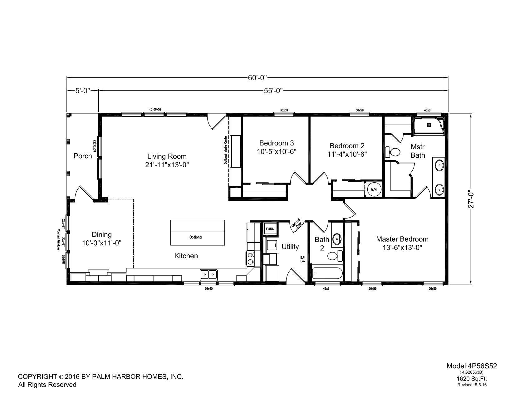 Sunset Bay Plus Manufactured Homes Floor Plans Modular Home Plans Park Homes