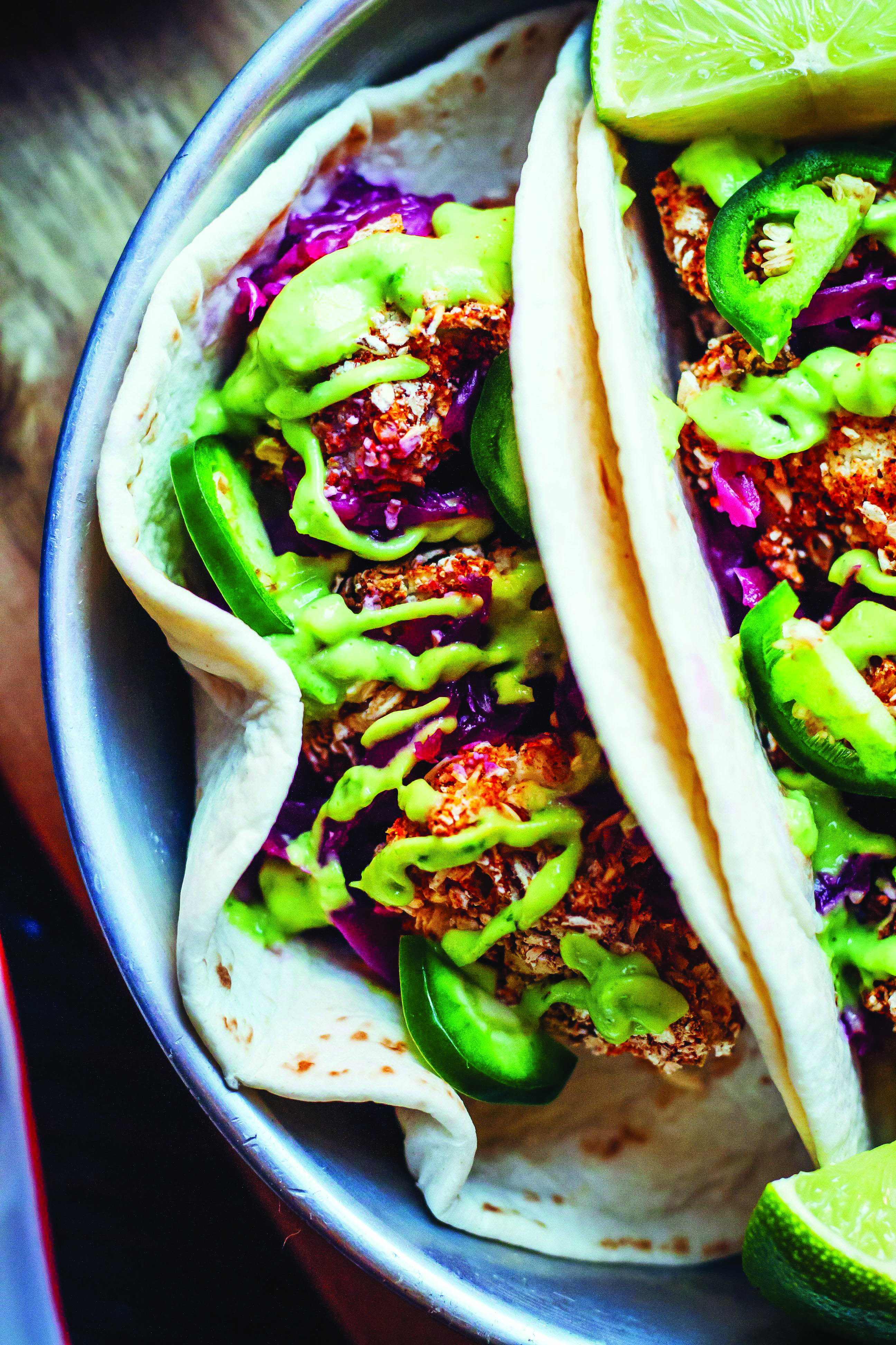 Ground Beef Tacos Dengan Gambar Vegetarian