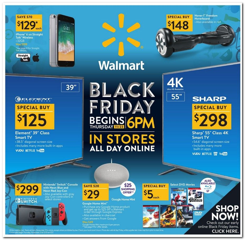 Walmart Black Friday 2020 Ad And Deals Walmart Black Friday Ad Black Friday Walmart Black Friday Ads