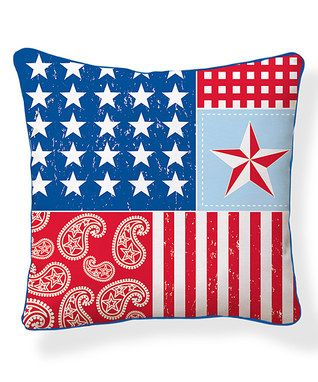 Americana Pillow Pillows And Pillow Arrangements Pinterest Best Americana Decorative Pillows