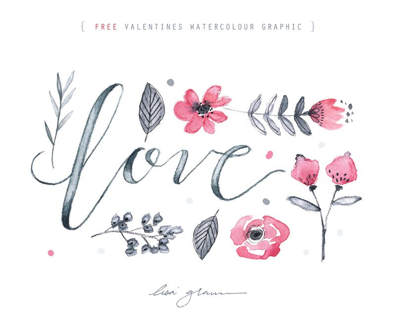 20 Wonderful Free Watercolor Clipart Collections Free Graphics