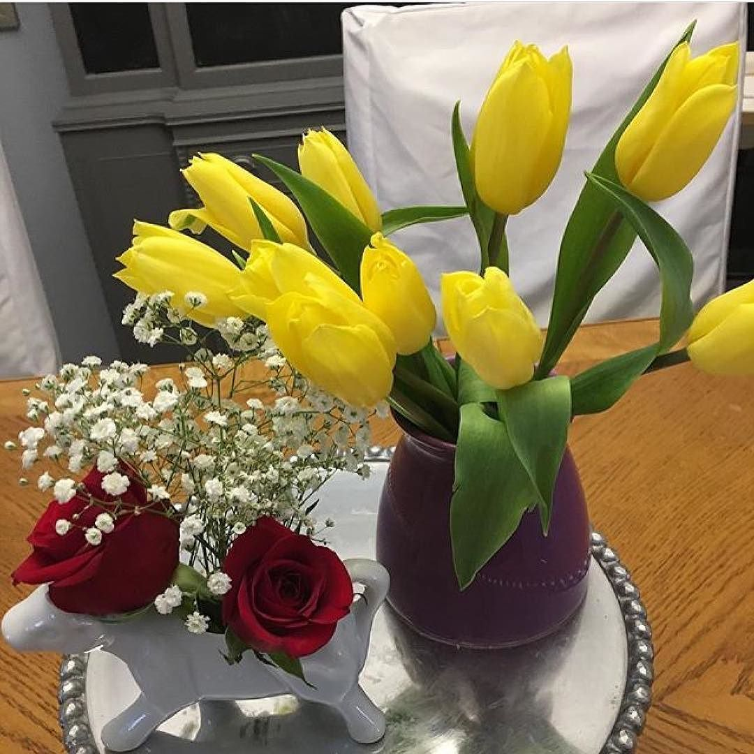 @sarah6116 SPRINGS UP her home with fresh flowers! Show us how YOU SPRING UP your home in an Instagram post like Sarah before 11:59PM on 4/30/17 and you could win a $250 gift card from AFW  1. Follow Us On Instagram 2. Tag @AFWonline 3. Use the Hashtag #AFWatHome Click link in bio  for full instructions and rules!
