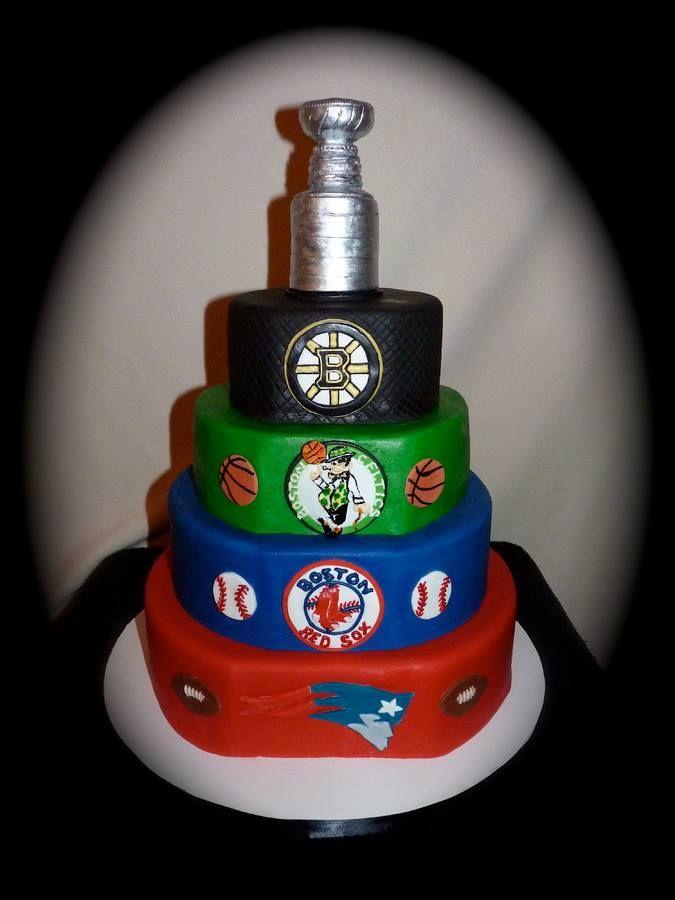 Boston Sports Cake Boston You Re My Home 2 Sports