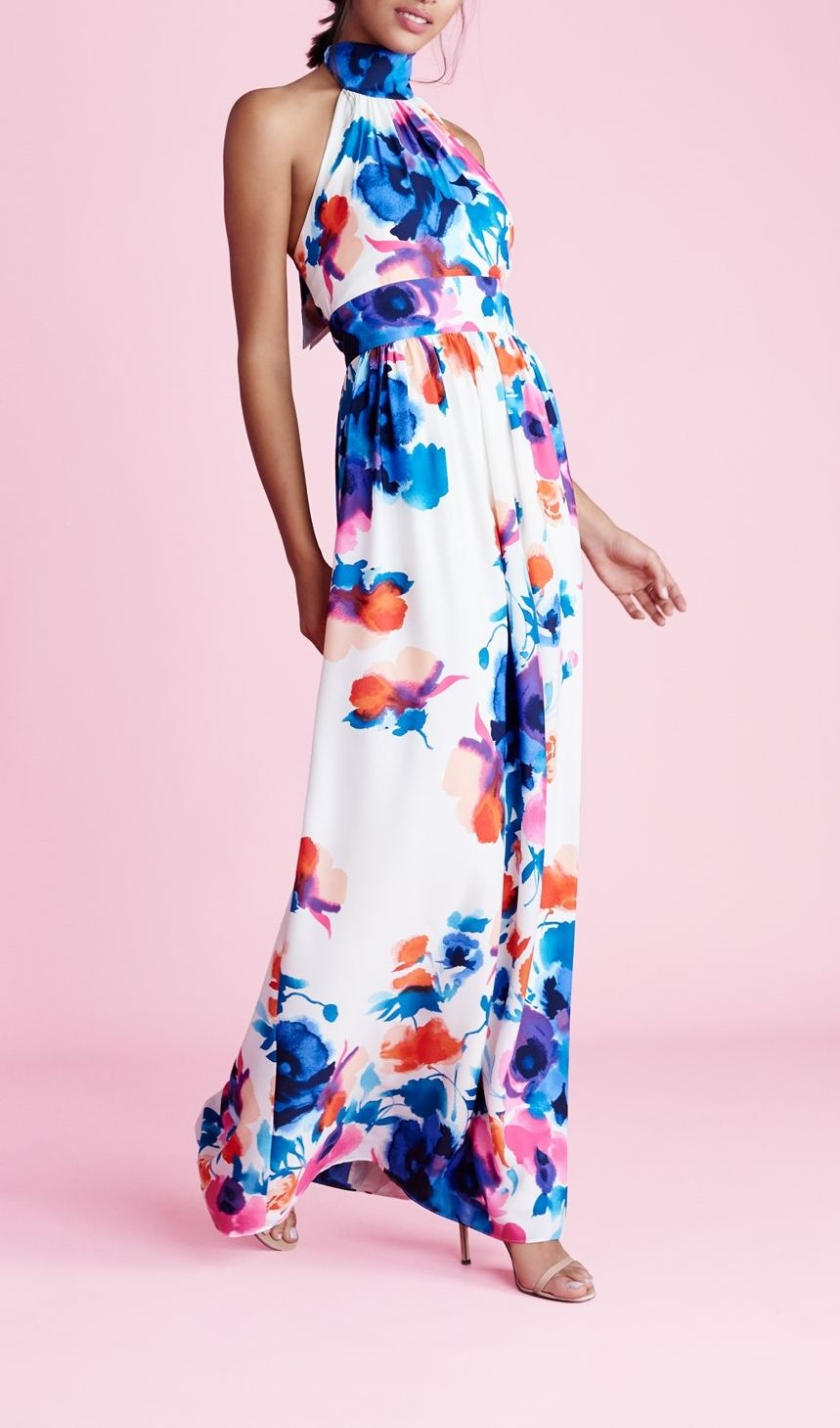Floral flowy and festive perfect words to describe this maxi