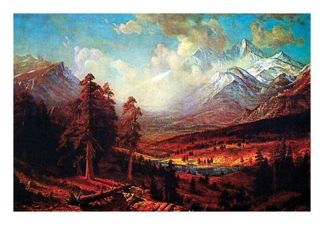 Estes Park Art Print Albert Bierstadt Art Com Park Art Albert Bierstadt Fine Art Gifts