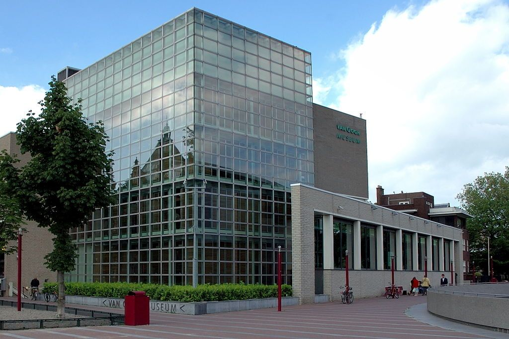 Gerrit Rietveld, Van Gogh Museum, Amsterdam