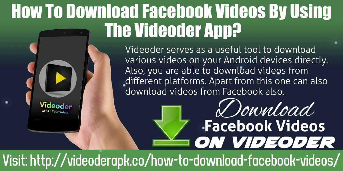 How to Download Facebook videos Facebook video, Online