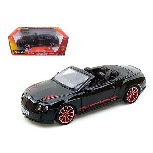 2012 2013 Bentley Continental Supersports Isr Convertible Black 1 18