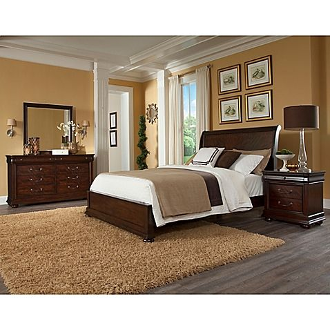 Best Klaussner Parkview 6 Piece Bedroom Set Furniture 400 x 300