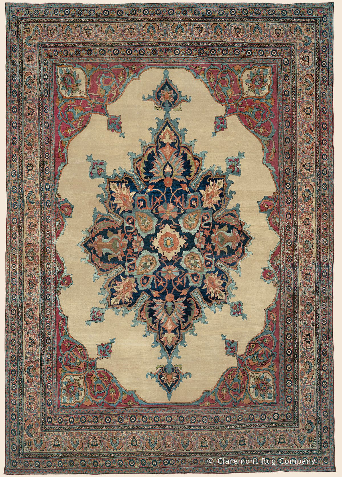 Antique Laver Kirman And Kermanshah Rugs Claremont Rug Persian Rug Designs Carpet Handmade Rugs On Carpet
