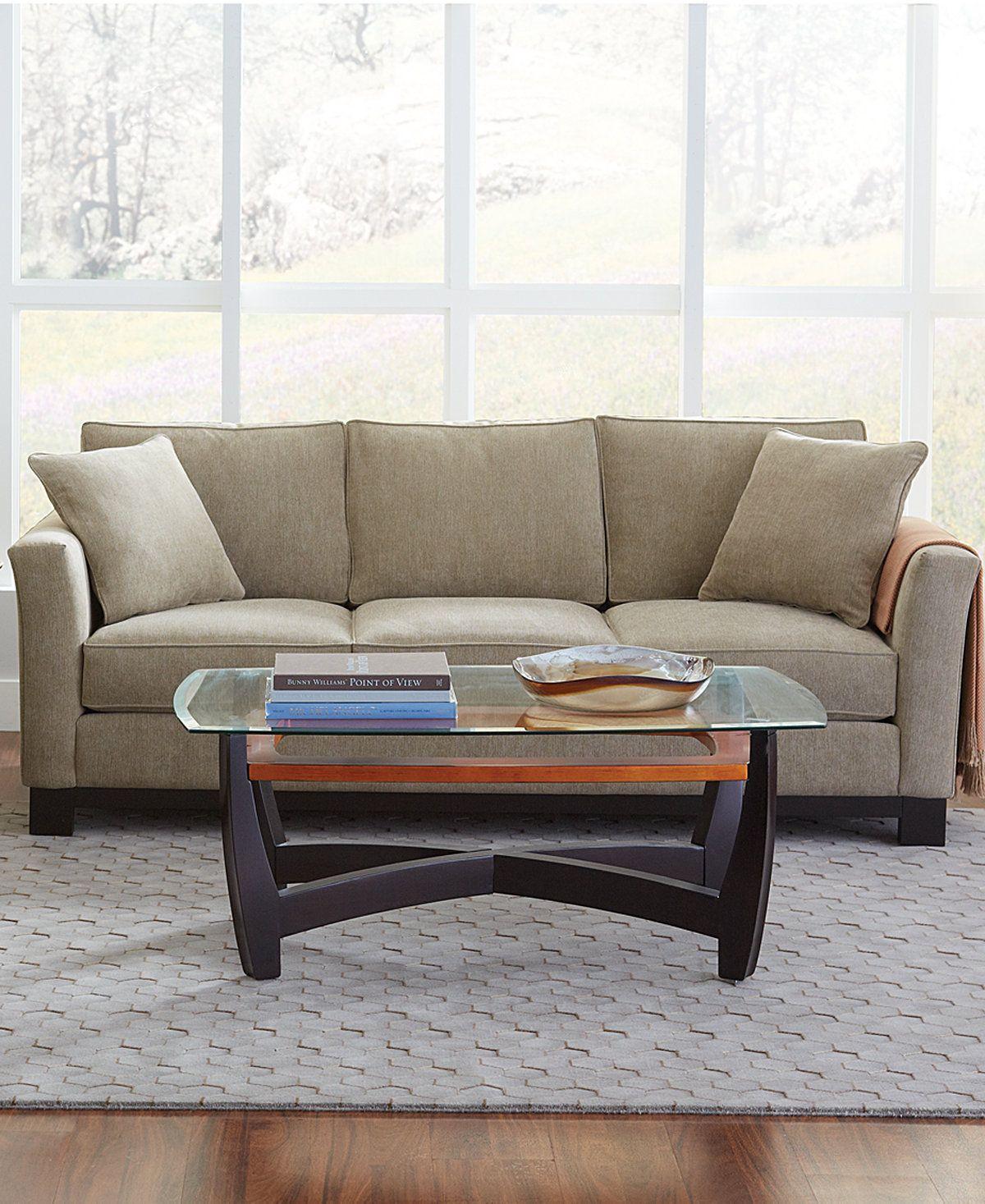 Kenton Fabric Sofa Couches Sofas Furniture Macy S