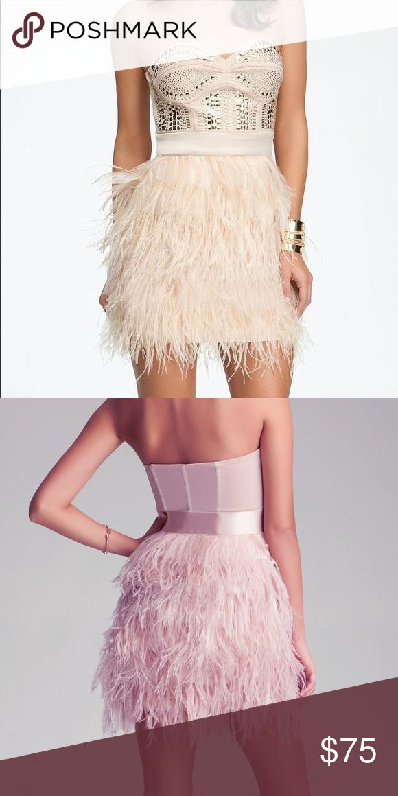 34++ Bebe studded feather dress ideas