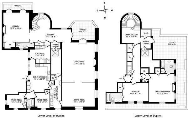 Streeteasy 740 Park Ave In Lenox Hill Floorplans Streeteasy Floor Plans Luxury Floor Plans Apartment Floor Plans